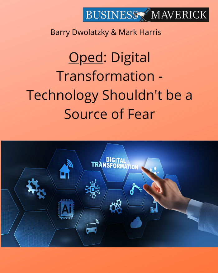 Digital Transformation: Technology Shouldn't be a Source of Fear